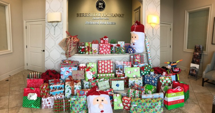 Berkshire Hathaway HomeServices Preferred Real Estate Ends 2017 By Giving Back, Awarding Success and Celebrating the Season!