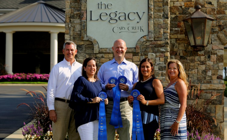 Auburn's Premiere Active Adult Community Wins 4 Blue Ribbons