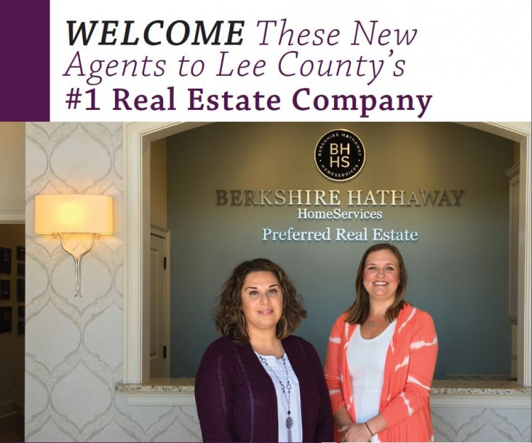 Lee County's Largest Real Estate Company Adds Two New Agents