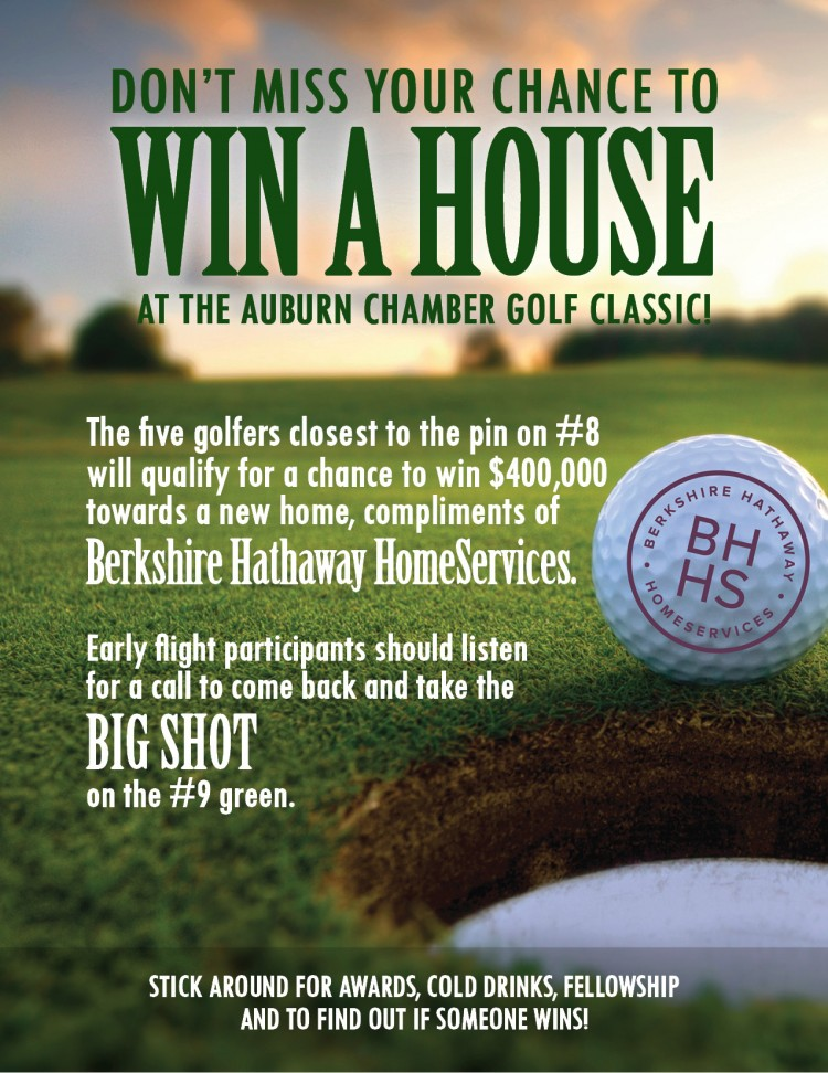 Berkshire Hathaway HomeServices Preferred Real Estate Offering Golfers a Chance at $400,000 Towards a New Home in Falls