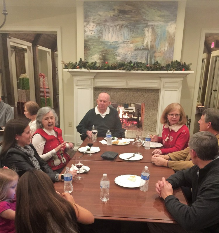 The Legacy at Cary Creek Christmas Party